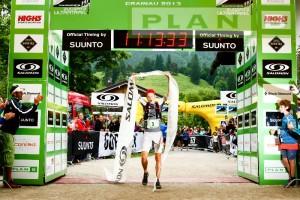 Sieger Philipp Reiter, Qulle: http://zugspitz-ultratrail.com