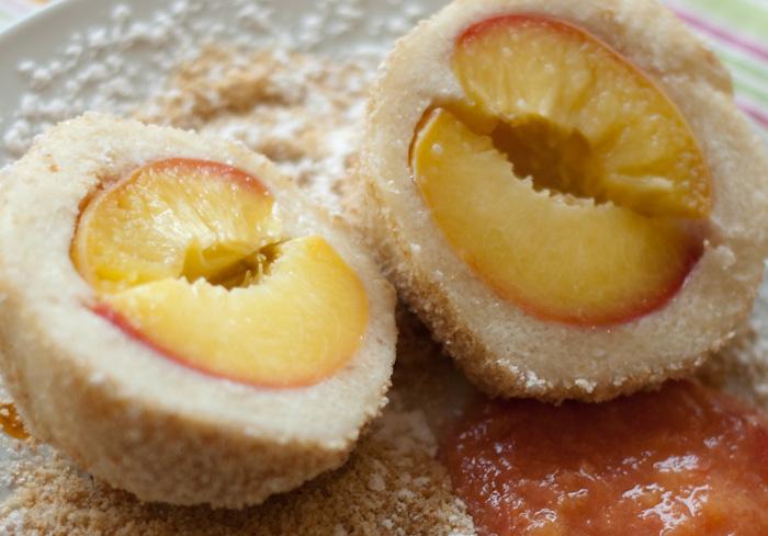 PfirsichKnödel – wer braucht schon Proteindrinks?
