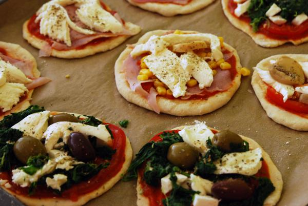 Mini-Pizza – die mag jeder!
