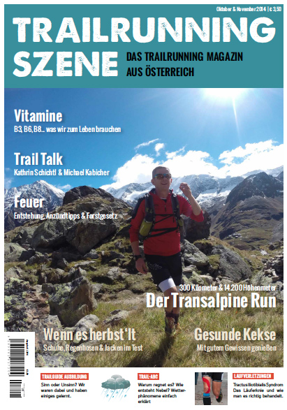 TRAILRUNNING SZENE – Ausgabe #03 ist da!