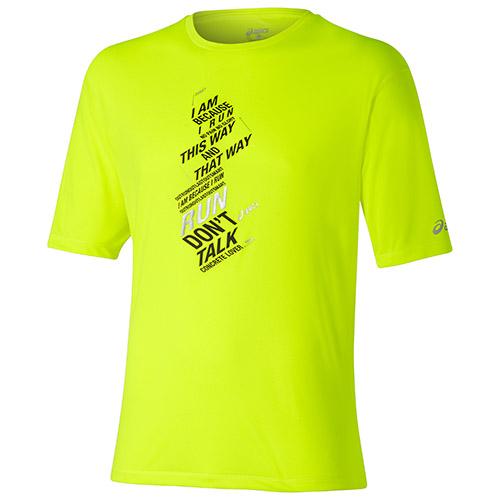 "ASICS Shirt, € 24,95 ""I am because I run"" - lässige Message für den Alltag!"