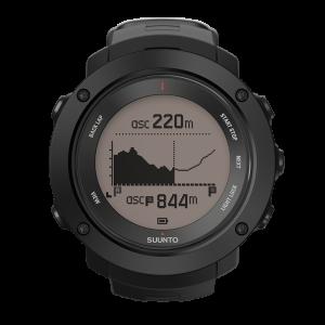 Die Uhr zeigt genau an, wieviele der Höhenmeter man bereits geschafft hat und wo man sich auf der Strecke befindet.
