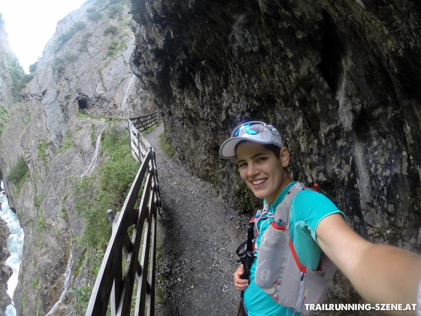 Von Kals Richtung Kalser Tauern - ein müdes Selfie-Lächeln