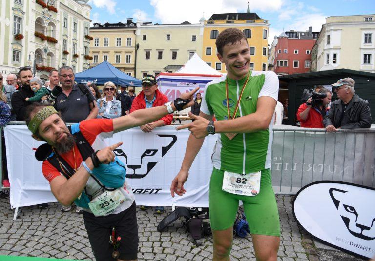 Zwei Sieger beim Traunsee Bergmarathon!