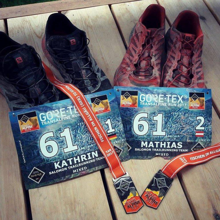 Eine Trail-Achterbahn der Gefühle: der 13. GORE TEX Transalpine Run