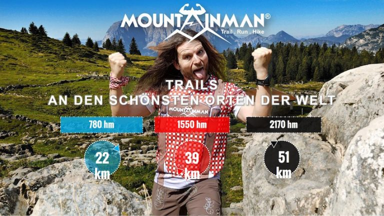 MOUNTAINMAN Trailrunning & Hiking  –  für Helden der Berge!