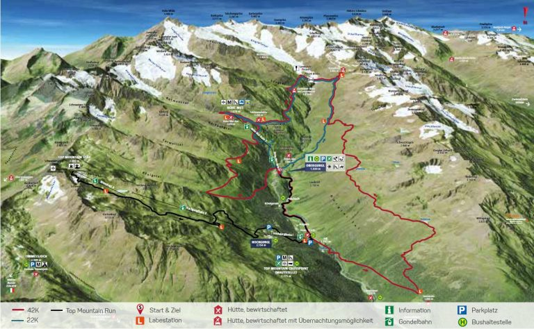 Vorschau Ötztal Gletscher Trailrun