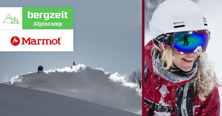 Bergzeit Alpincamp mit Marmot: Freeride Saisonauftakt im