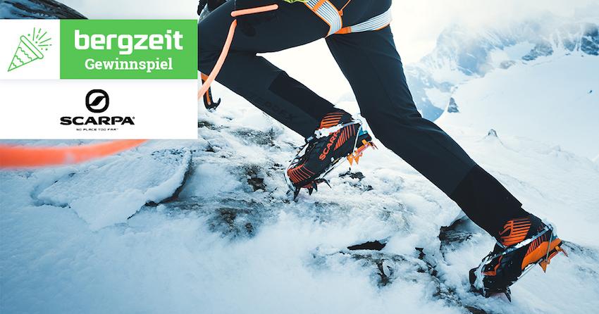 Gewinne ein Mountain Elite Paket von Scarpa im Wert von über
