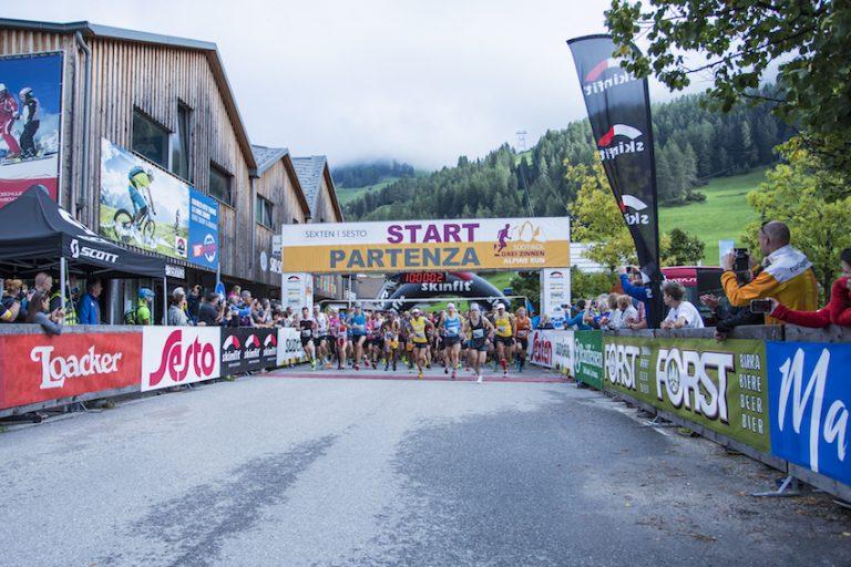 Palzer und Maier triumphieren beim  Südtirol Drei Zinnen Alpine Run in Sexten
