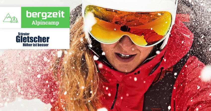 Bergzeit Alpincamp mit K2: Fünf Tage – fünf Gletscher