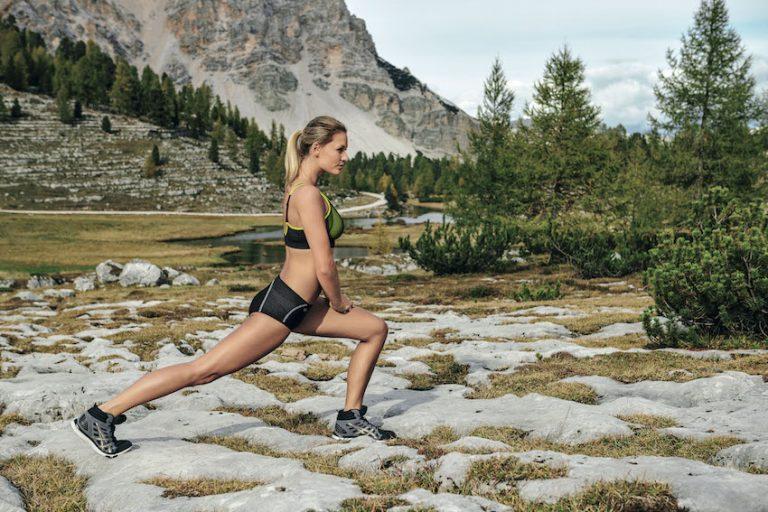 Schwerarbeit für die weibliche Brust – Sport BH