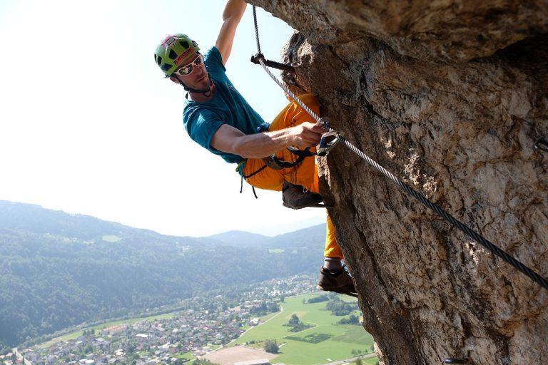 Klettern – Wie die Vertikale in der Horizontale hilft