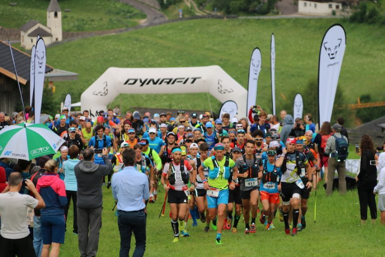 500 Trailrunner bei der 3. Auflage des Rosengarten Schlern Skymarathon